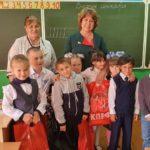 Дорога в школу  Коммунисты поздравили детей из малообеспеченных семей с началом нового учебного года