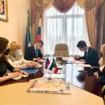 Рабочий визит в Москву главы Хакасии Валентина Коновалова