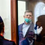 В Хабаровске проходит пикет в годовщину задержания экс-губернатора Сергея Фургала