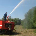 Современная лесопожарная техника отправилась в районы Хакасии