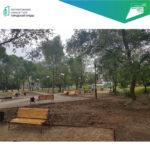 В текущем году по республике облагородят 37 дворовых и 53 общественных территорий