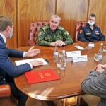 Валентину Коновалову представили нового начальника Росгвардии в Хакасии
